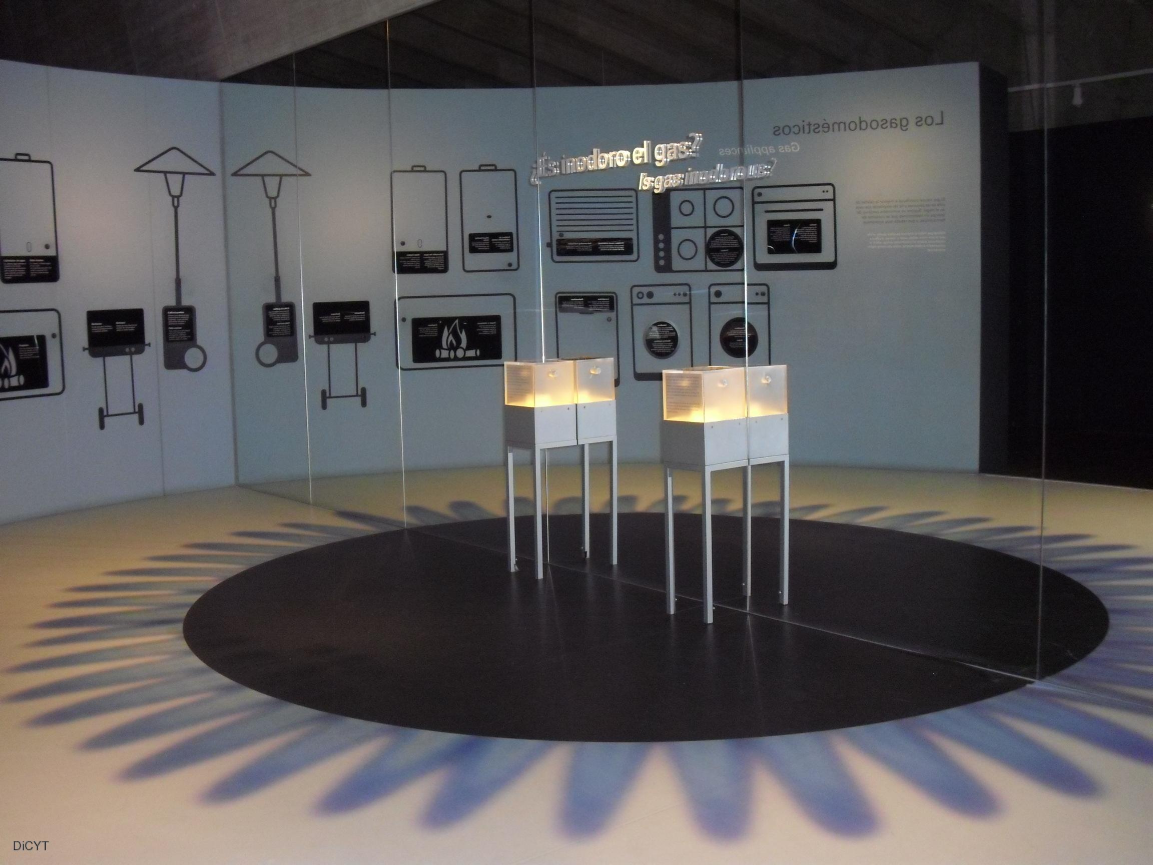 Espacio expositivo sobre el gas natural del museo de la for Oficina gas natural valladolid