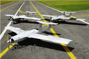 México diseña aviones no tripulados