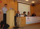 Inauguración del '5th European Workshop on Matematical and Scientific e-contents'.