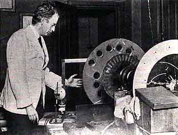 Logie Baird experimentando